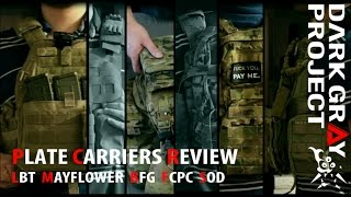 Plate Carriers: LBT 6094A, Mayflower APC, SOD Gear Spectre, Ferro Concepts PC and BFG PLATEminus