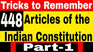 Articles of the constitution of India | Laxmikanth polity book gk Tricks