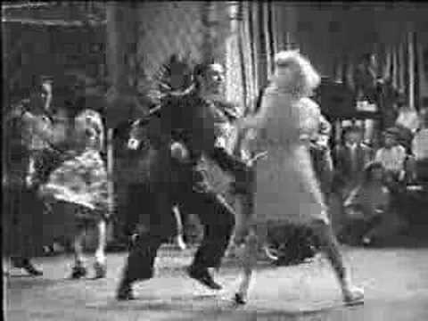 Swing Dancing from the Movie Twiced Blessed 1945