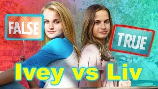 The MattyB Quiz! (Ivey vs Liv)