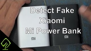 How to Detect the Fake Xiaomi Mi Power Bank 10400Mah , Mi Power Bank and Cable