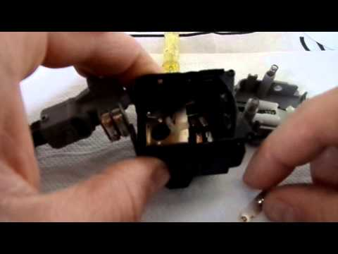 ASTRA G TURN SIGNAL SWITCH REPAIR part 2 FOR OPEL CLUB.GR