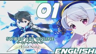Sword Art Online Lost Song Walkthrough Gameplay Part 01 - English PS Vita, PS3 No Commentary