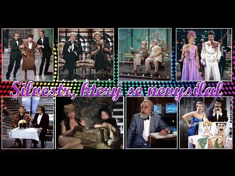 Silvestr kter� se nevysílal TV pořad I a II. část ❖ Zábavn� Hudební Československo 1989
