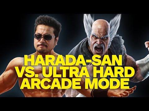 Xxx Mp4 Tekken 7 Can Creator Harada San Beat His Game On Ultra Hard 3gp Sex