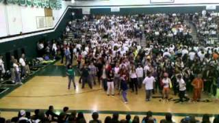 Tigard shake dance!(look at martin in the middle!)