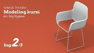 Tutorial membuat kursi di blender (bag 2/3)