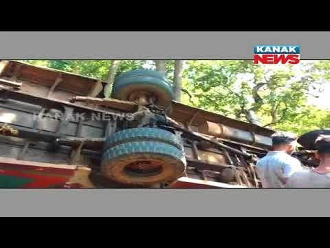 Xxx Mp4 1 Dead 20 Injured As Bus Overturns In Baliguda 3gp Sex