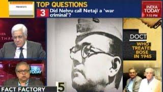 Did Nehru Call Bose A War Criminal?