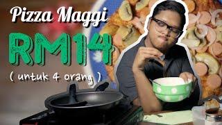 #DAPOQSENGKEK - Pizza Maggi