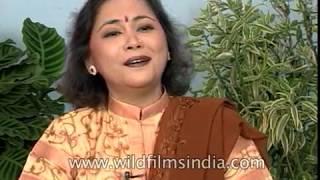 Hai Na Bolo Bolo singer Poornima Shrestha in early 90s TV show