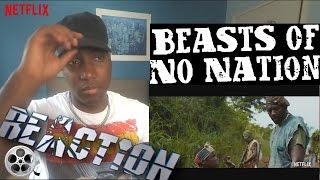Beasts of No Nation - Teaser Trailer - A Netflix Original - REACTION!