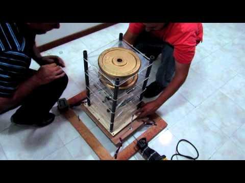 Simulador sísmico sismo aislante seismic simulator