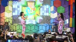 2 RACUN Live At 100% Ampuh Awards (16-01-2013) Courtesy GLOBAL TV