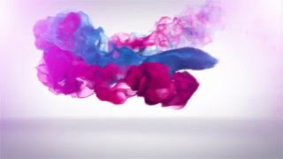 Trailing Particles Logo Reveal smoke colorful intro v1