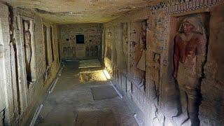 شاهد: اكتشاف مقبرة فرعونية في مصر عمرها 4400 عام