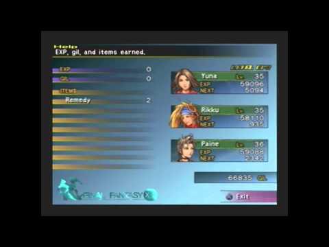 Final Fantasy X-2 100% Walkthrough - Cactuar Search: Cactuars 4-6