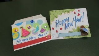 Homemade Greeting Cards: New Years Cards : Homemade Greeting Cards