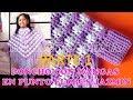 Download Video Download Poncho con mangas a crochet en punto FLOR JAZMÍN PARTE 1 con indicaciones para todas las TALLAS 3GP MP4 FLV