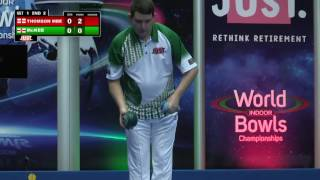 World Indoor Bowls Championship 2017: January 16th - Morning Session