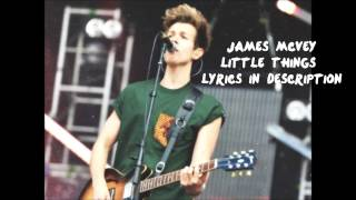 James McVey (The Vamps) Little Things Cover (Lyrics in Description)