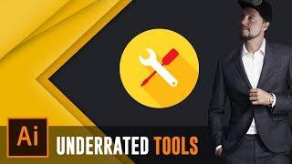 3 USEFUL ILLUSTRATOR TOOLS YOU DON'T USE - Adobe Illustrator Useful Tools
