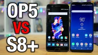 OnePlus 5 vs Galaxy S8+: Can it kill a flagship?