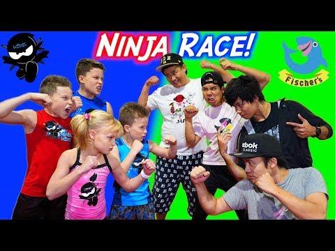 American Ninja Warrior vs Japan Ninja Warrior Race