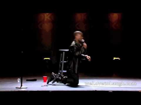 Kevin Hart - How Shaq Falls (Seriously Funny)