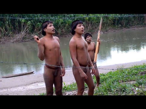 Exclusivo 2º contato dos índios isolados no Acre