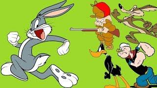 GRANDES DIBUJOS ANIMADOS CLÁSICOS: Bugs Bunny, el Pato Lucas, Popeye, Caricaturas Animadas Viejas HD