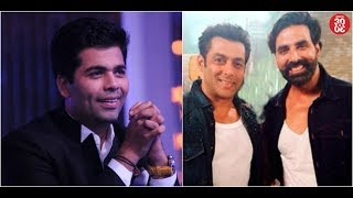 Karan Refuses To Interact With Media At An Event | KJO Ends The Cold War Between Salman-Akshay