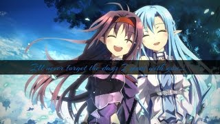 【LiSa】 Shirushi 【Sword art online II】 【Eng Lyrics】  【Male Version】