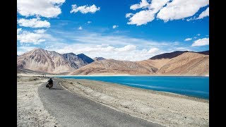 Shot at 3 Idiots point in Pangong #ShotwithIphone6S #SlowMotion