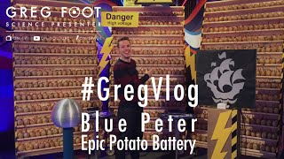 World's Biggest Potato Battery? | #GregVlog: Blue Peter
