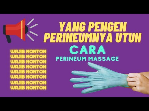 Langkah Perineum Massage