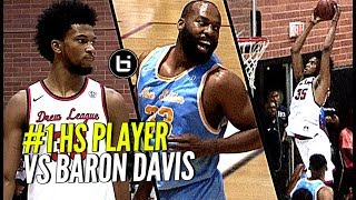 #1 High School Player vs Baron Davis! Marvin Bagley III DOES IT AGAIN at the Drew League! 30 & 9!