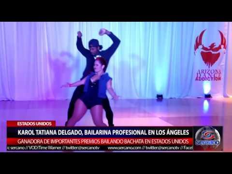 Karol Tatiana Delgado bailarina profesional en Los Ángeles ganadora de importantes premios.