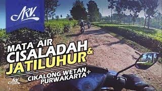 27. Menuju Mata Air CISALADAH & Waduk JATILUHUR | from Bandung - 2017
