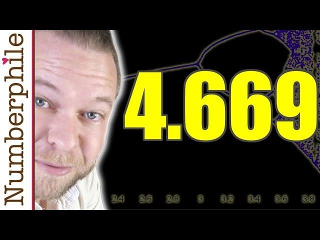 The Feigenbaum Constant (4.669)  - Numberphile