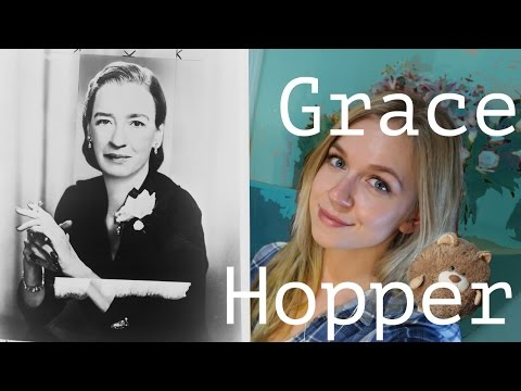 The Queen of Software | Grace Hopper | Coding Blonde
