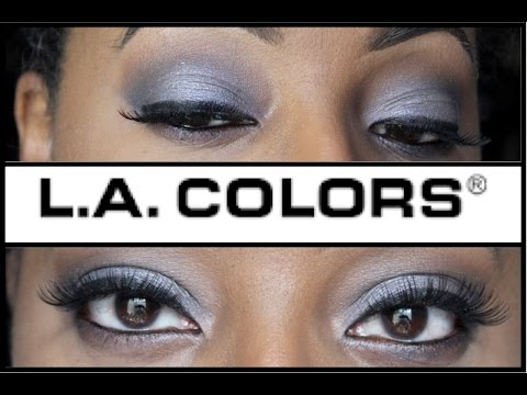L.A. Colors Cosmetics GLAM 18 Color Eyeshadow Palette