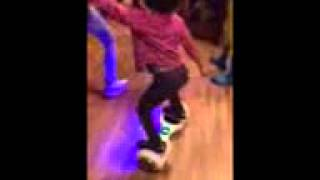 3 year old hits Tha Quan on hoverboard