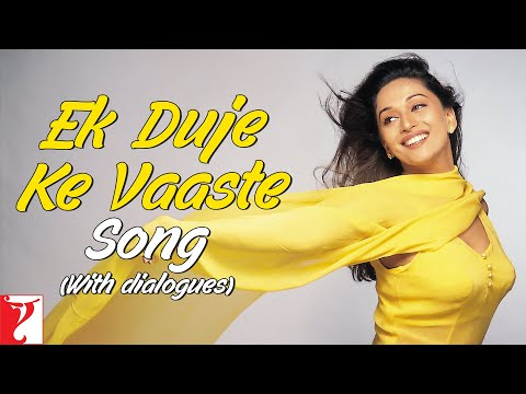 Xxx Mp4 Ek Duje Ke Vaaste Song With Dailogues Dil To Pagal Hai Shah Rukh Khan Madhuri Lata Udit 3gp Sex