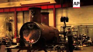 The age of steam preserved by rail enthusiasts
