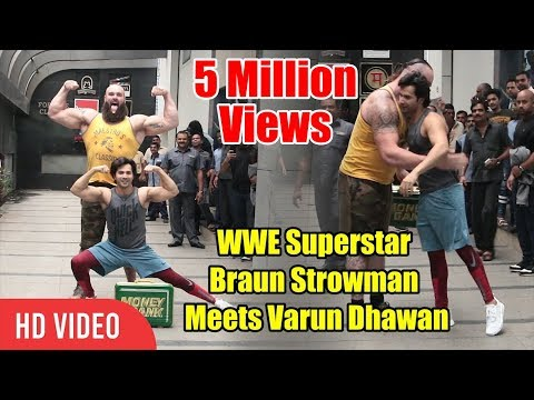 Xxx Mp4 WWE Superstar Braun Strowman Will Meet Varun Dhawan Viralbollywood 3gp Sex