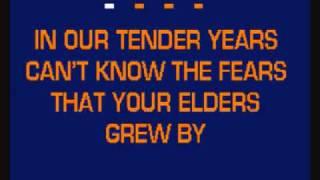 TEACH YOUR CHILDREN karaoke