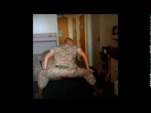 ARMY GAY MAN GETTING IT DOWN BY MOVING HIS ASS