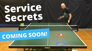 Coming Soon...Learn How To Serve Like A Pro...feat. Craig Bryant