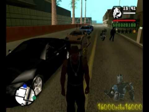 GTA San Andreas Loquendo Carl Jonshon CJ Quiere Ser Un Maestro Pokemon Lagarto Ninja